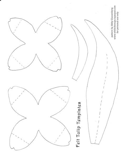 felt-tulip-templates (463x600, 35Kb)