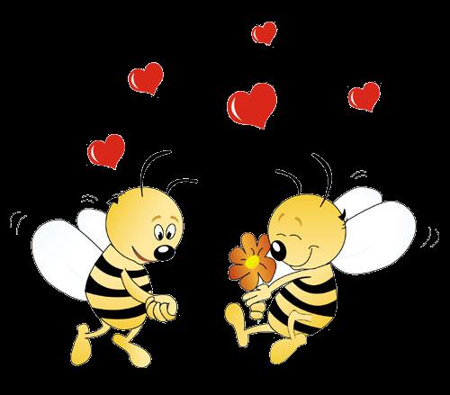 Открытки спасибо с пчелками