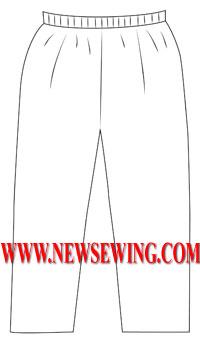 Выкройка штанов для мальчика 104 рост
