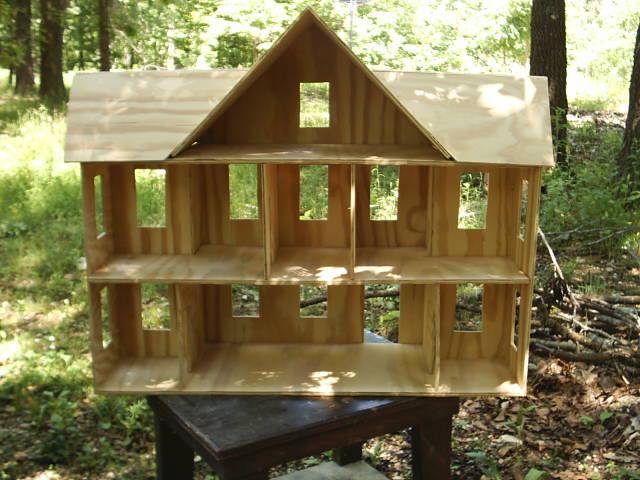 Простые домики для кукол своими руками фото 674