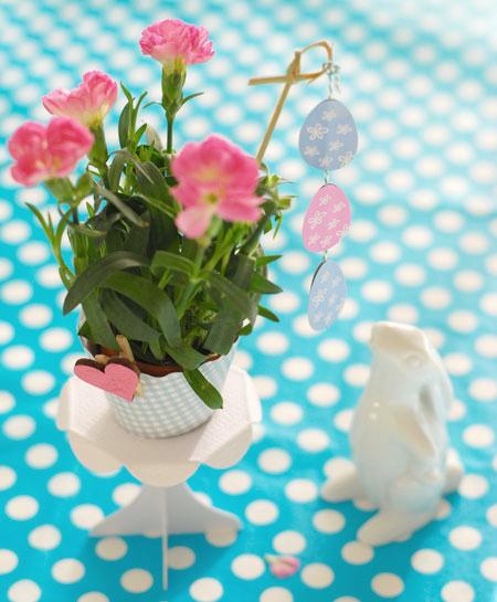 ваза и пасхальный кролик (450x545, 176Kb)