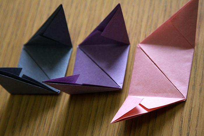 куб оригами схема, схема куба из бумаги.