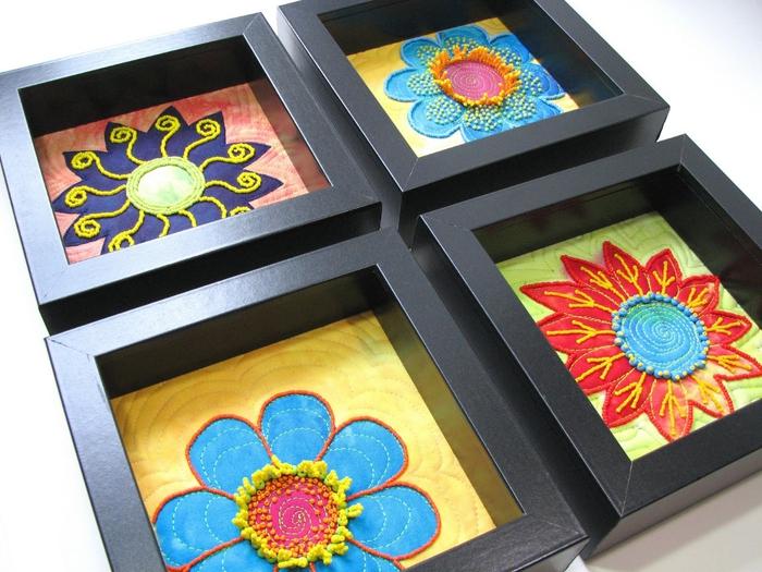 С помощью бисера можно так же вышивать картины, создавать великолепные цветы и деревья, забавные фигурки и игрушки.