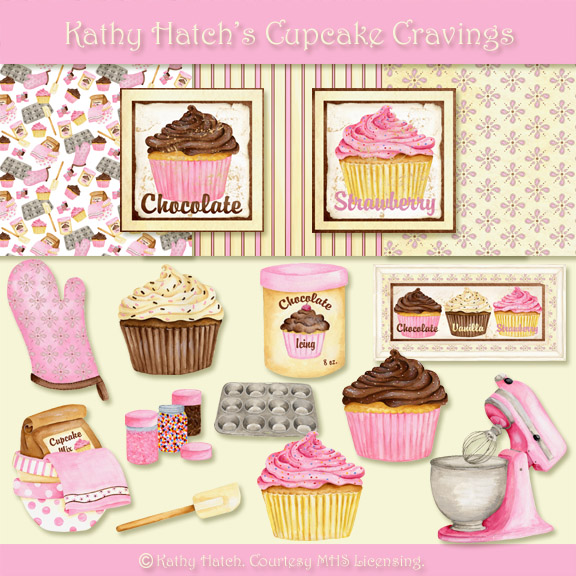Kathy Hatch's Cupcake Cravings PREVIEW (576x576, 152Kb)