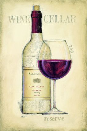 A3267_CAT~Wine-Cellar-Red-Posters (284x425, 19Kb)
