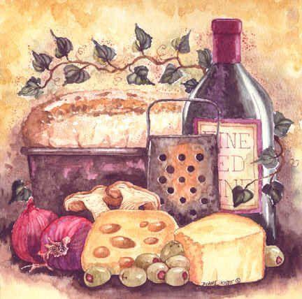 Vinho e condimentos (432x428, 43Kb)
