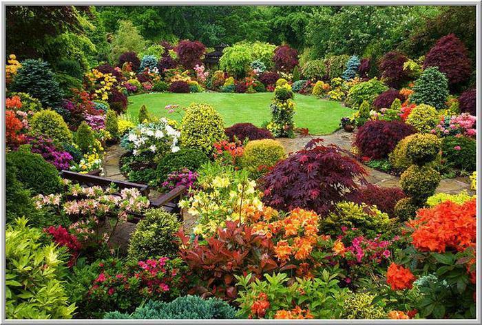 Английский сад марии и тони ньютон