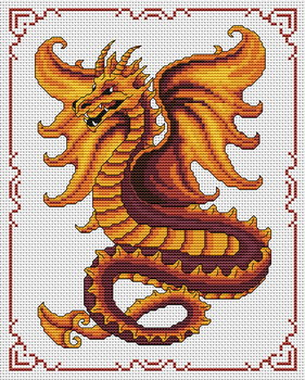 Flaming_dragon (281x350, 66Kb)