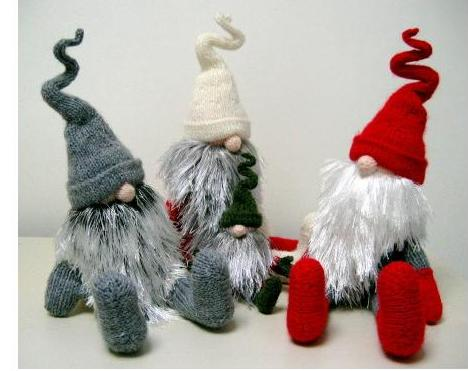 Рождественский гном своими руками