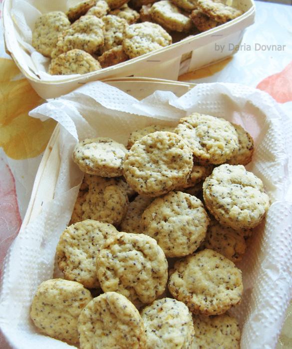 Печенье без яиц на растительном маслеы