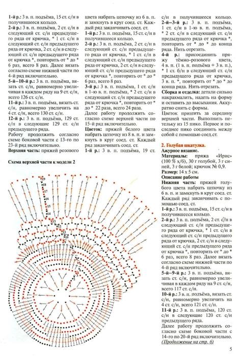 Вязаные шкатулки крючком: схема и описание.  Чтобы посмотреть картинку ниже, нажмите, и она увеличится.