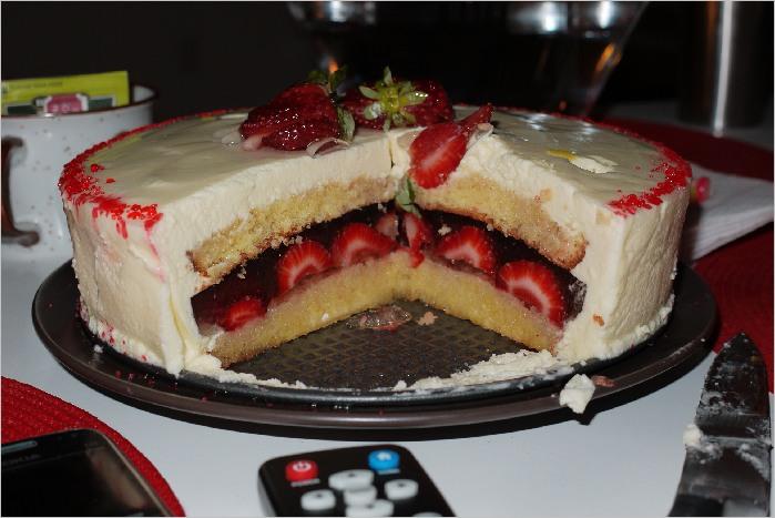 Как сделать прослойку для торта. Совет