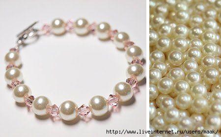 CГіmo hacer una pulsera de perlas (450x280, 56Kb)