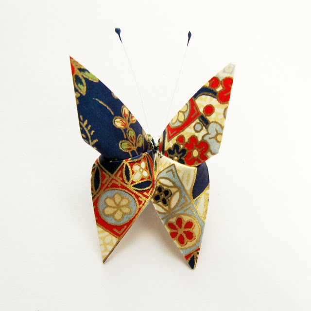 Сделать бабочку из ткани своими руками
