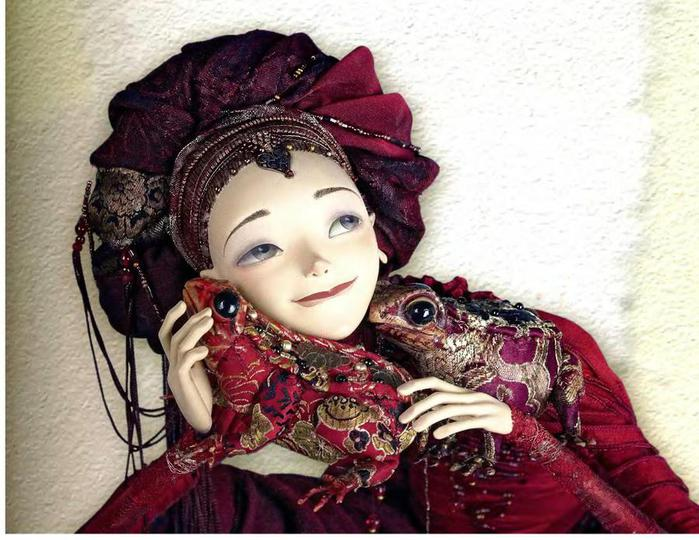 Куклы из папье маше фото