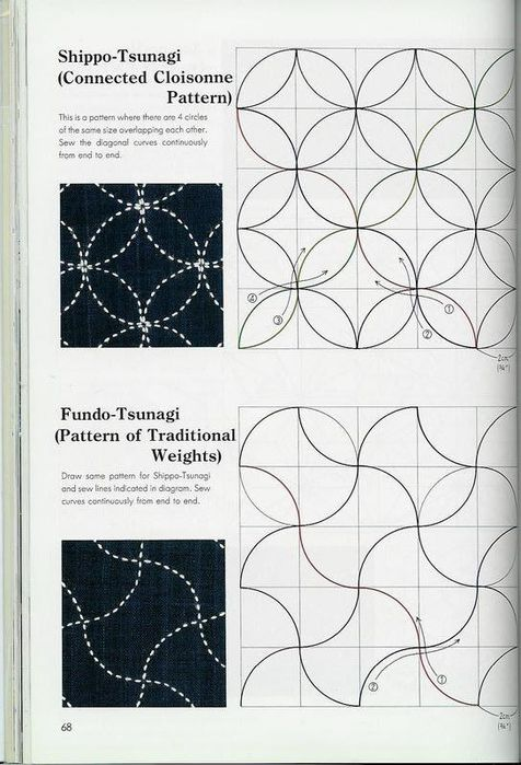 the classic quilting of sashiko (69) (476x700, 68Kb)