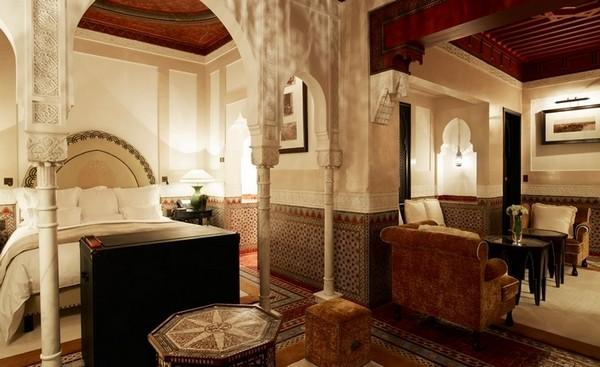 Самые лучшие отели мира - La Mamounia Marrakech 9 (600x367, 64Kb)
