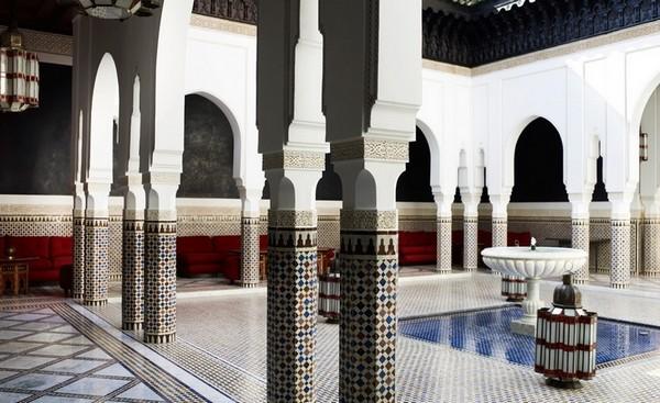 Самые лучшие отели мира - La Mamounia Marrakech 19 (600x367, 76Kb)