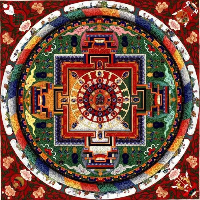 Mandala chakrasamvara mandala (700x699, 131Kb)