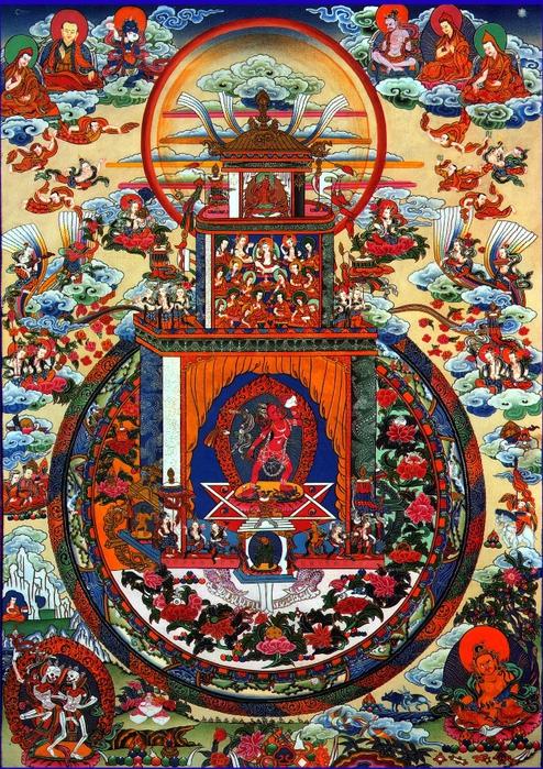 Mandala vajra yogini Mandala (494x700, 427Kb)