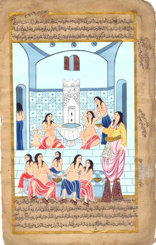 Min - Women's Bath in Palace (318x500, 54Kb)