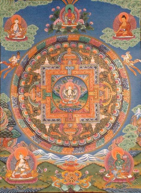 Thangka chenrezi mandala (475x650, 92Kb)