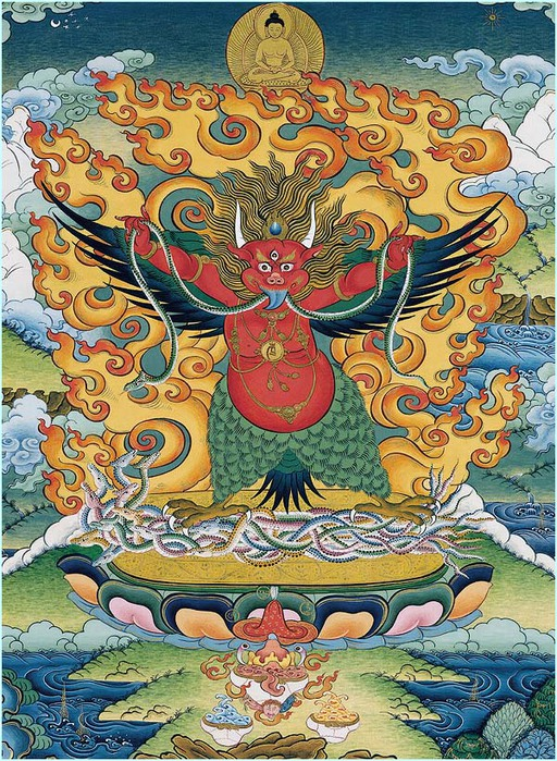 Thangka Garuda (512x700, 215Kb)