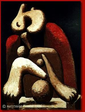 Picasso Femme au fauteuil rouge. 27-January 1932. 130 x 97 c (299x392, 20Kb)
