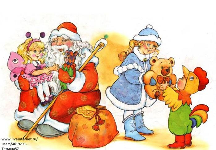 Зимние картинки для детей детского сада раскраска