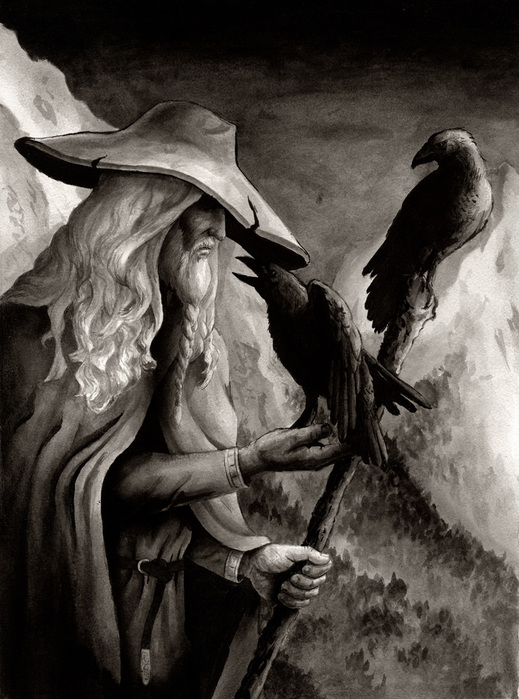 Бог Один Викингов