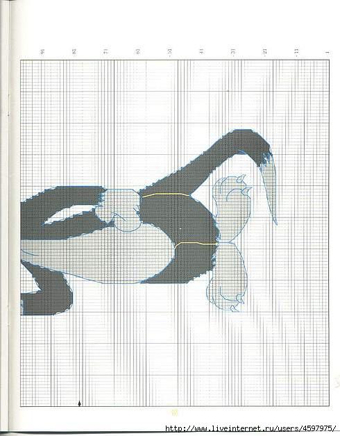 Крючком пледы с мультяшками (16) (490x628, 156Kb)