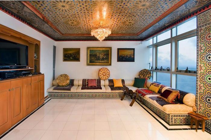 Роскошный арабский стиль в пентхаусе из Майами 9 (700x465, 118Kb)