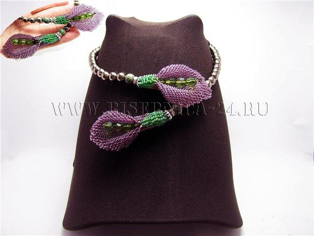 Схема Калла - кирпичным плетением 50503