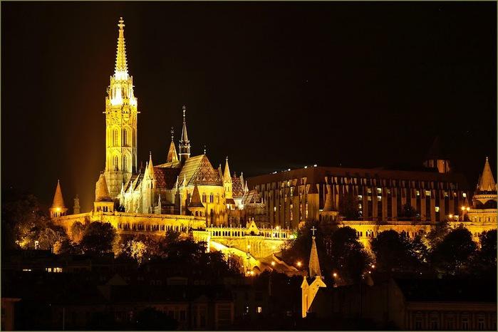 Ночной Будапешт 66566