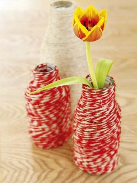 Как сделать напольные вазы своими руками фото