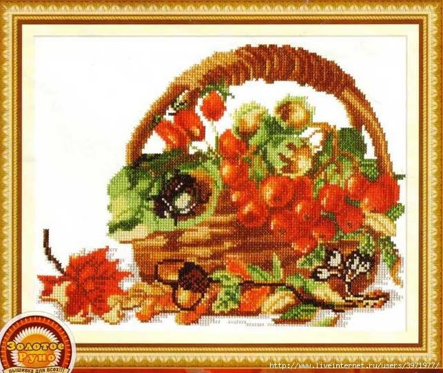 Изображение 0 из 1 br/Изображение Рябина и орехи.