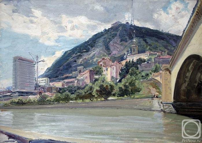 Тбилиси, Тацминда (700x497, 280Kb)