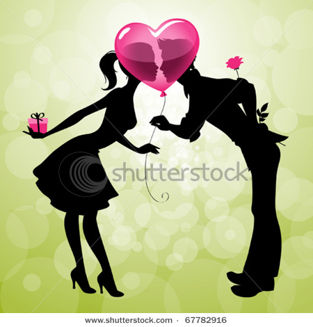 stock-vector-illustration-of-a-cute-couple-kissing-behind-heart-shaped-balloon-67782916 (450x470, 53Kb)