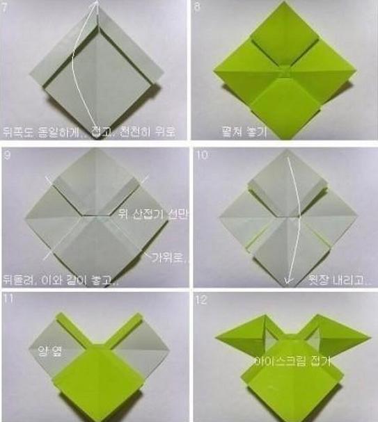 Как сделать объемный бант из бумаги