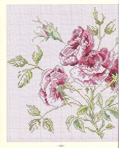 подушка с розой2 (486x604, 103Kb)