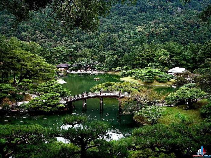 Японский сад фото 29 (700x525, 196Kb)