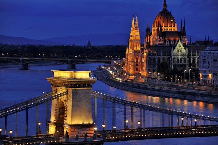 Ночной Будапешт 49519
