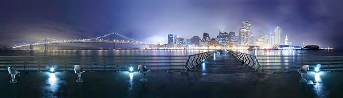 Красочный городской пейзаж фотографа Simon Christen 2 (700x201, 32Kb)