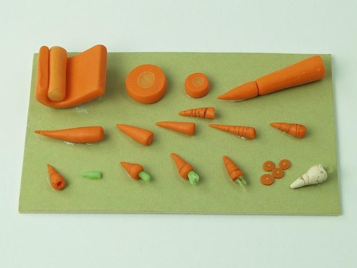 Лепка фруктов и овощей мастер класс