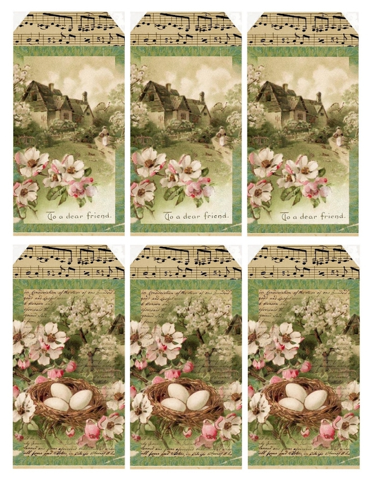 sweet spring cottage gift tags (540x700, 346Kb)