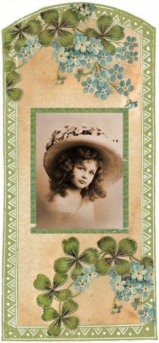Vanilla label tag sage green and clover sweet girl 3 (324x700, 207Kb)