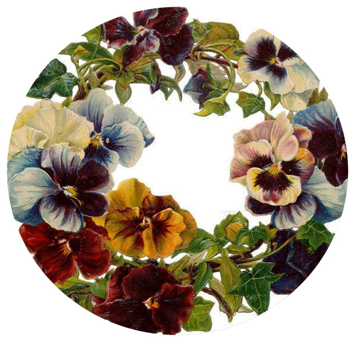 pansy circle tag (700x670, 316Kb)