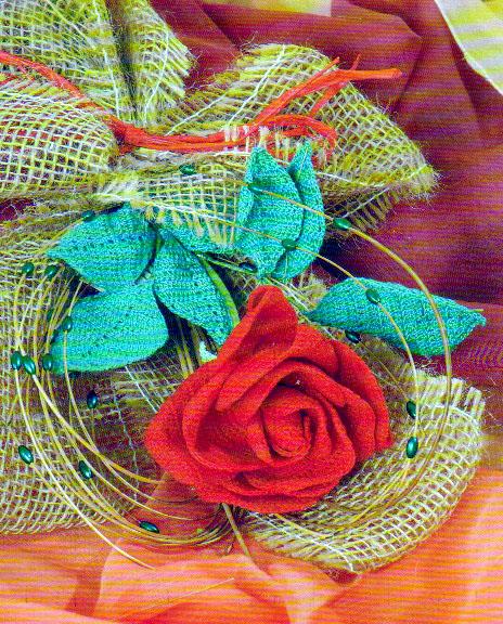 икебана из красной розы (464x576, 216Kb)