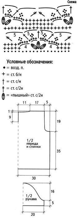 Схема-вязания-топа (255x700, 27Kb)