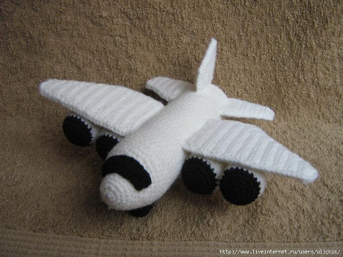 Вязание крючком схемы самолет 33